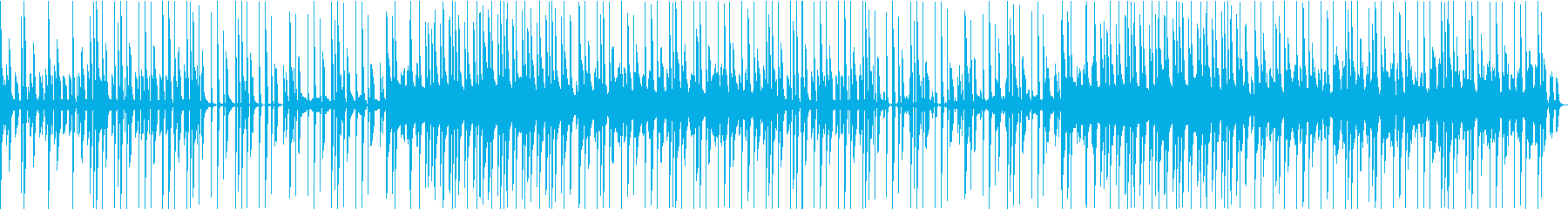 シンセメインのヒップホップビートの再生済みの波形
