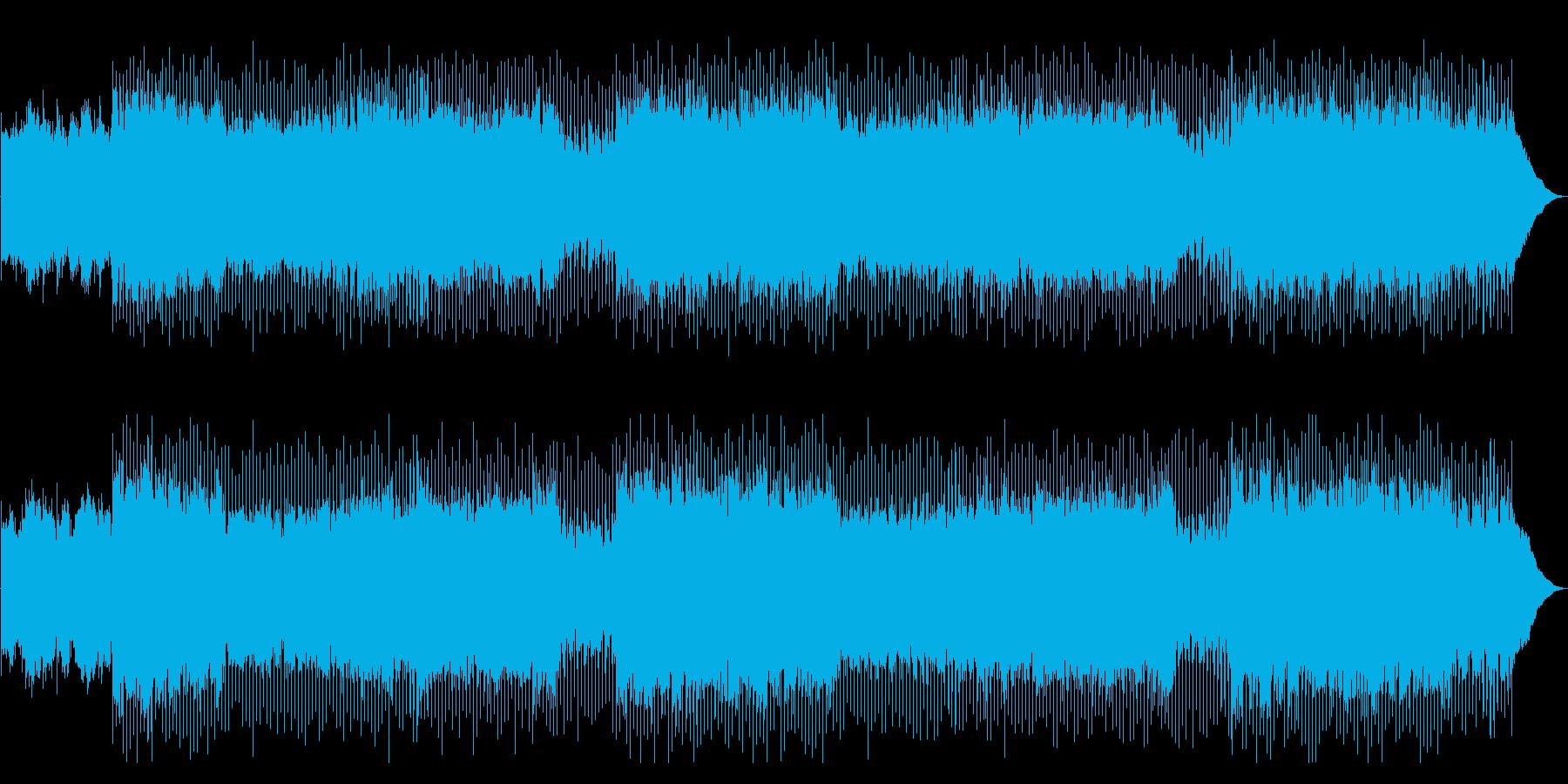 爽やかな生演奏アコースティックポップの再生済みの波形