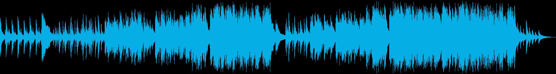 ピアノソロ ピアノバラードの再生済みの波形