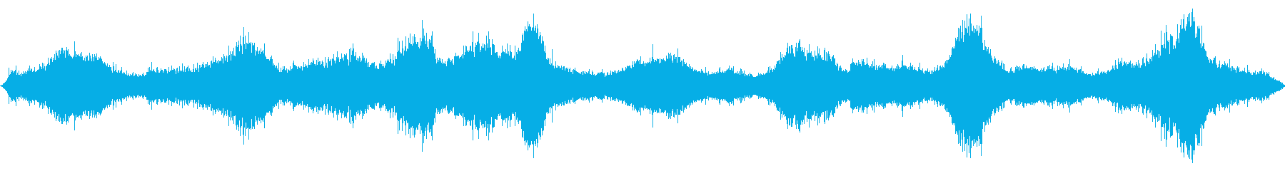 波; DIGIFFECTS;海、波、波の再生済みの波形