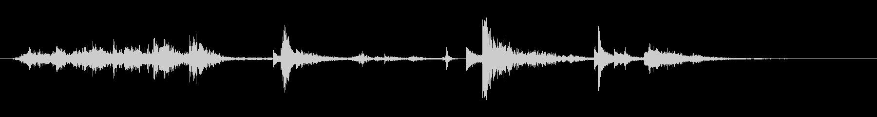 ジャンクパイルによるジャンク検索の未再生の波形