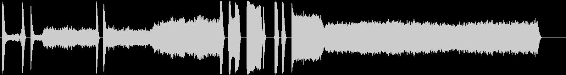 松明;アセチレン;大音量でアセチレ...の未再生の波形