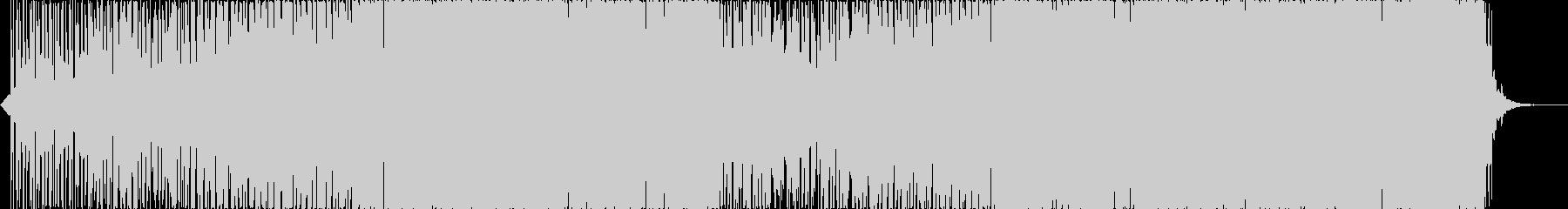 官能的でK-POP風のダウナーEDMの未再生の波形