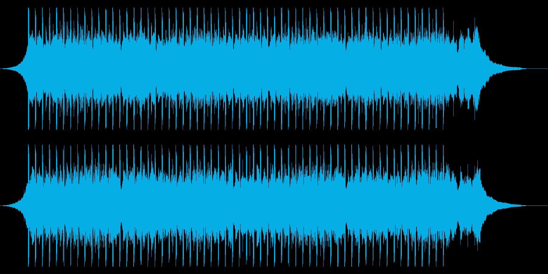 コーポレートプレゼンテーションの再生済みの波形