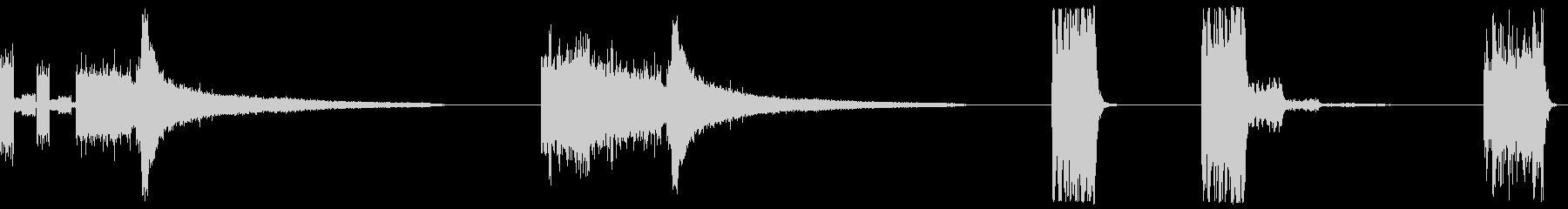 スケールUNO、3バージョン、MU...の未再生の波形