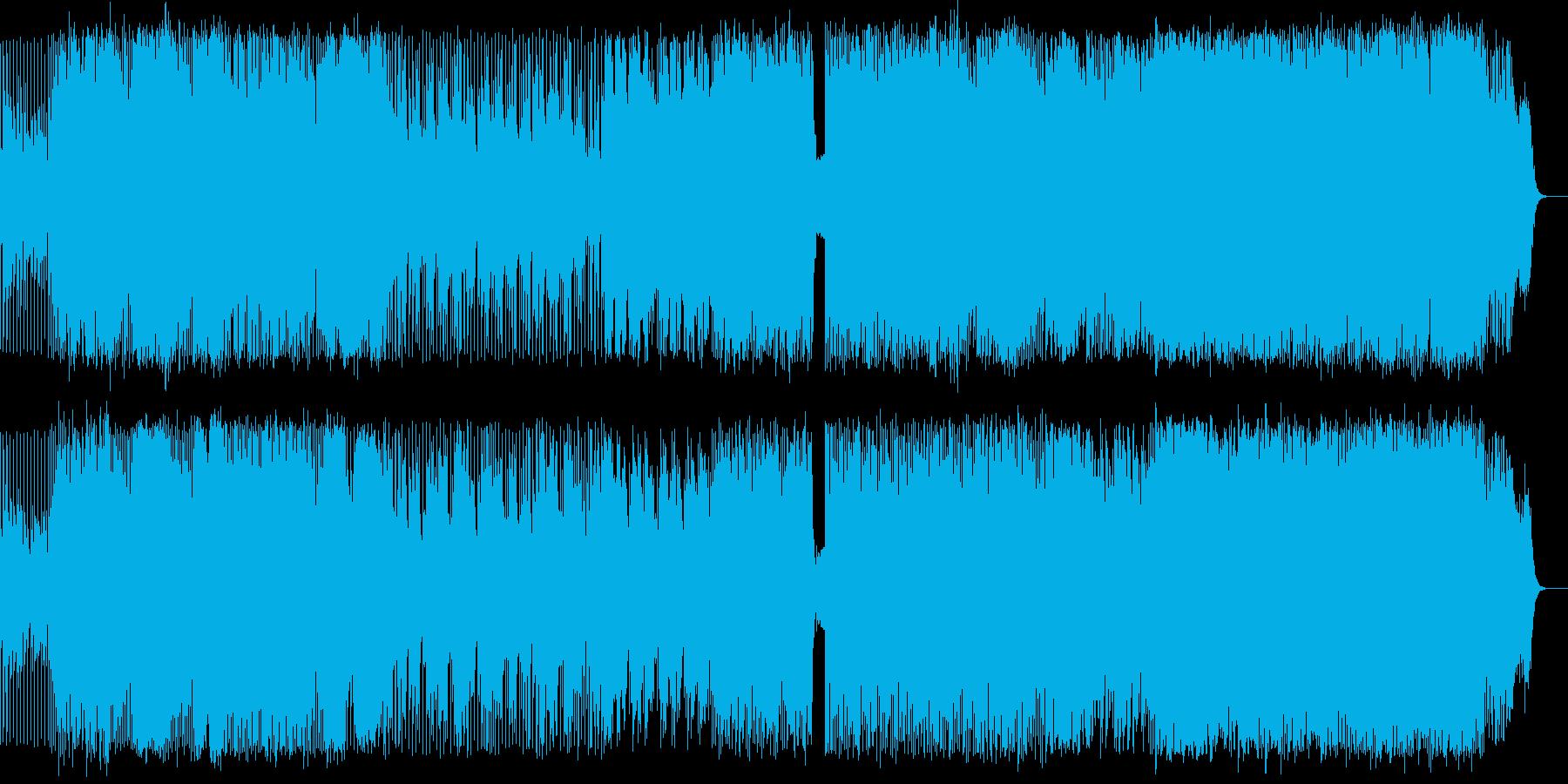 どこか懐かしい哀愁ある構成のインストの再生済みの波形