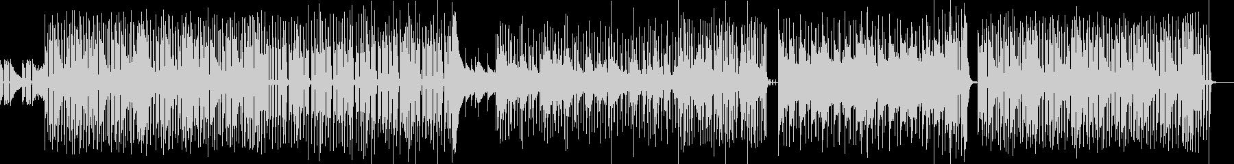 バンド形式のドライなピアノ&クラビBGMの未再生の波形