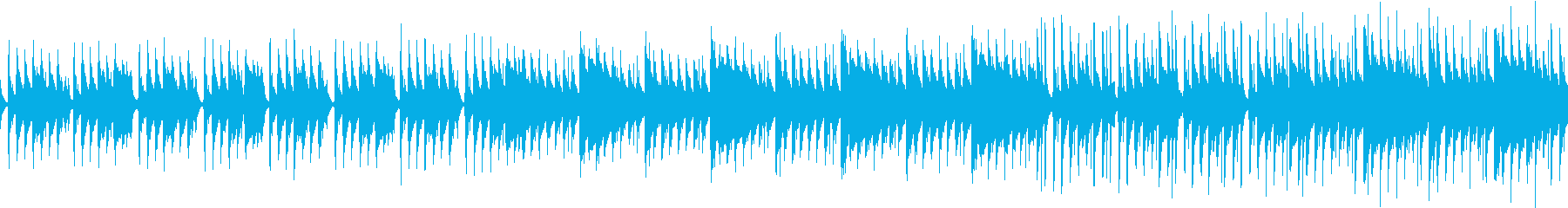 不思議でお洒落な何度も聴きたくなる音楽の再生済みの波形