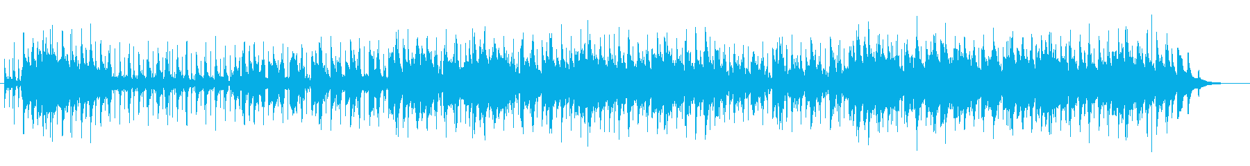 哀愁のラヴ・バラードの再生済みの波形