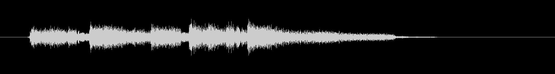 切ないギター音(ジングル、ドラマ)の未再生の波形