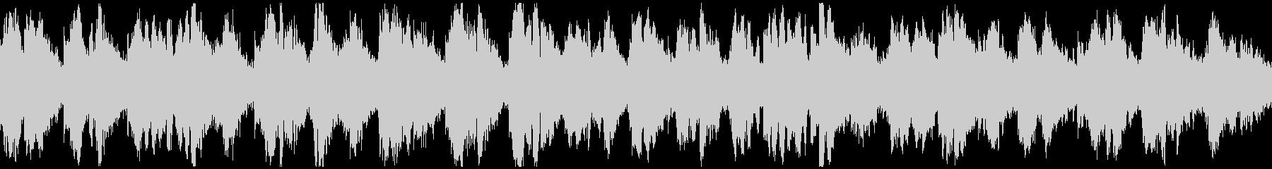キラキラ神秘的なリラックス曲 ※ループ版の未再生の波形