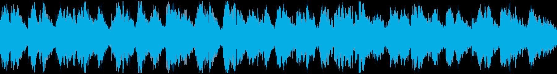 キラキラ神秘的なリラックス曲 ※ループ版の再生済みの波形