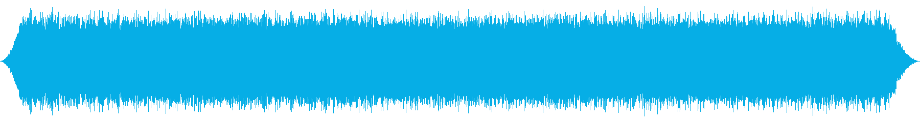 川:重い高速Ro音の流れ、軽い泡のしぶきの再生済みの波形