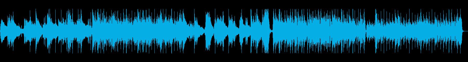 透明感のあるクリーンなギターサウンドの再生済みの波形
