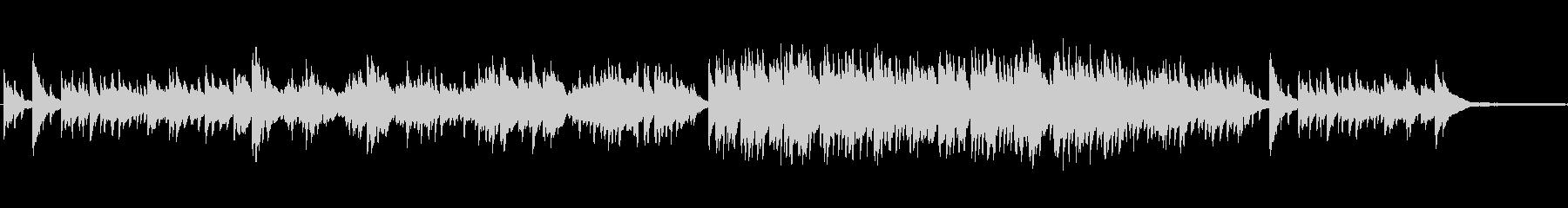 ポップスのバラード風ピアノインの未再生の波形