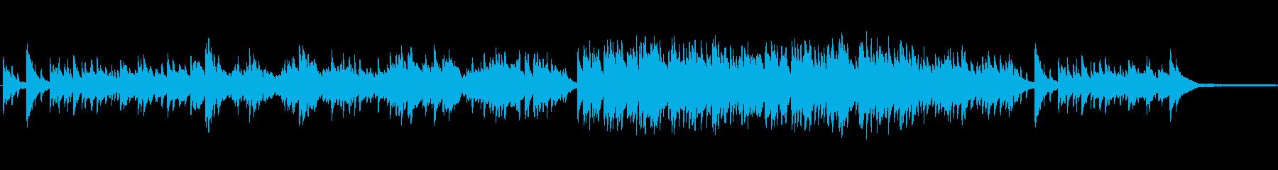 ポップスのバラード風ピアノインの再生済みの波形