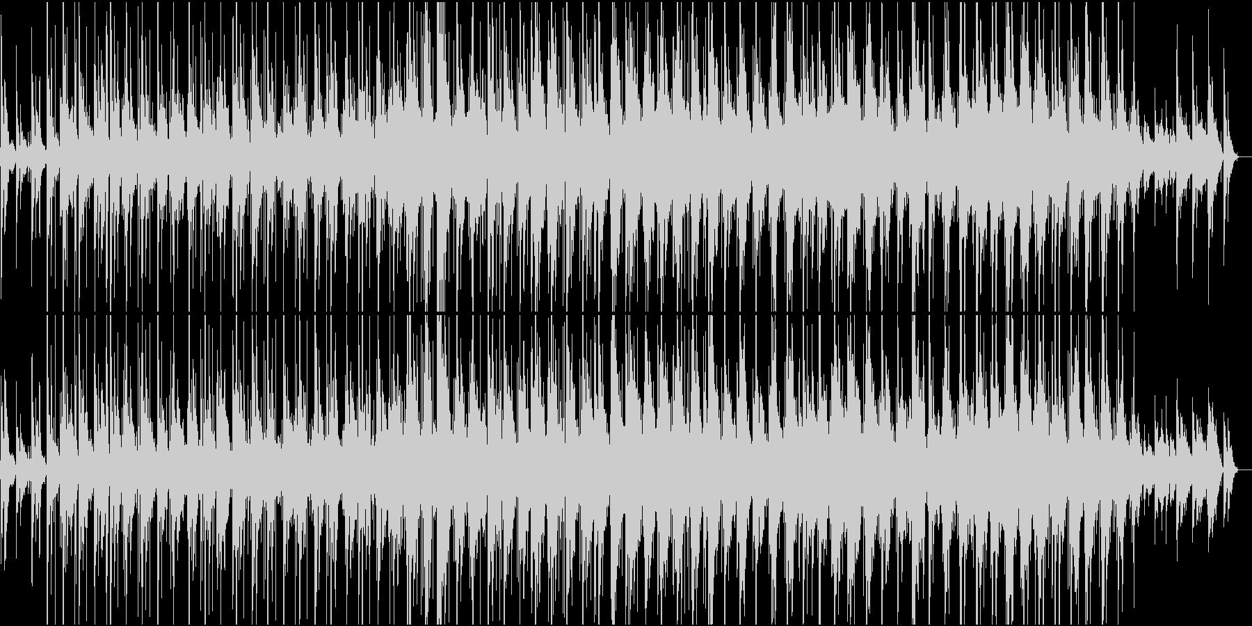ACROSS THE RIVERの未再生の波形