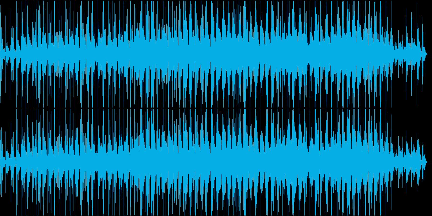 ACROSS THE RIVERの再生済みの波形