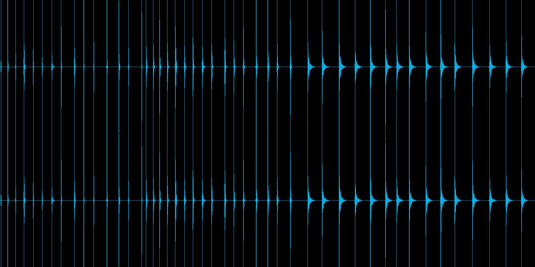聴覚障害の再生済みの波形