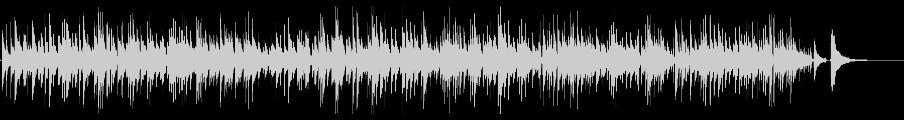 2本のボサノバギターBGM Shortの未再生の波形
