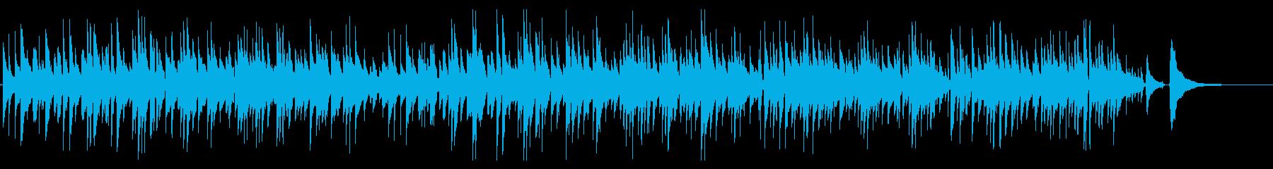 2本のボサノバギターBGM Shortの再生済みの波形