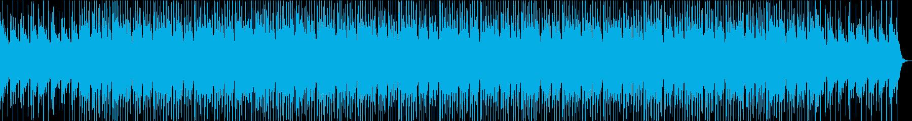 クラップとピアノが印象的なおしゃれBGMの再生済みの波形