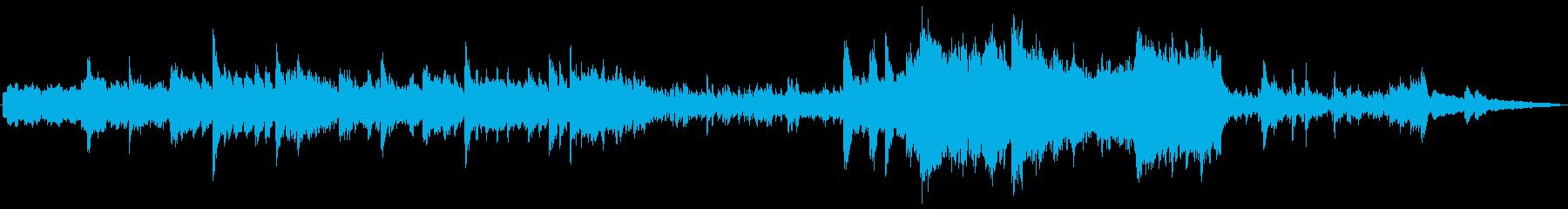 勝利に向かう時に流れるBGMの再生済みの波形