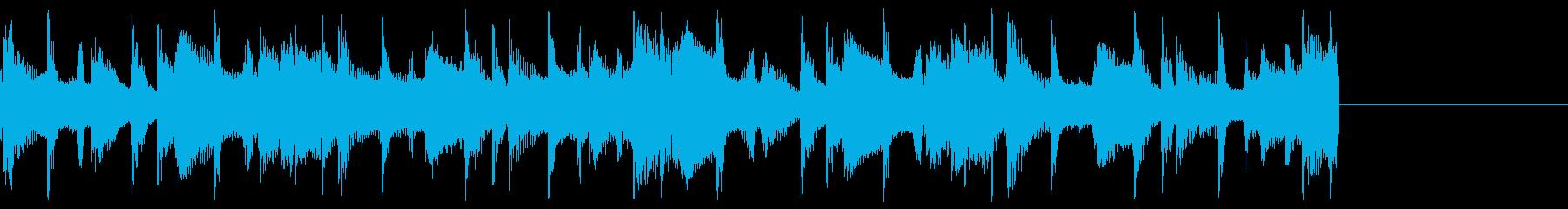 ループのための風変わりなコメディト...の再生済みの波形