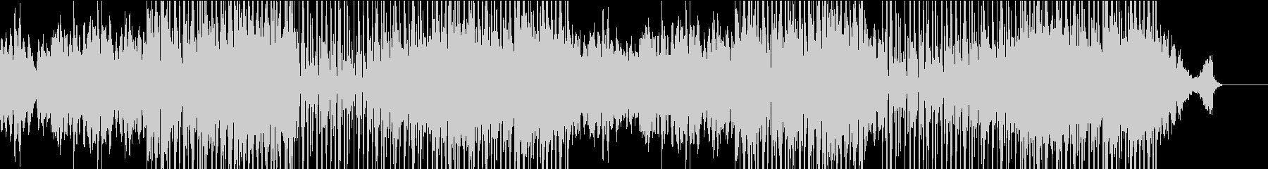 優しいピアノのBGMの未再生の波形