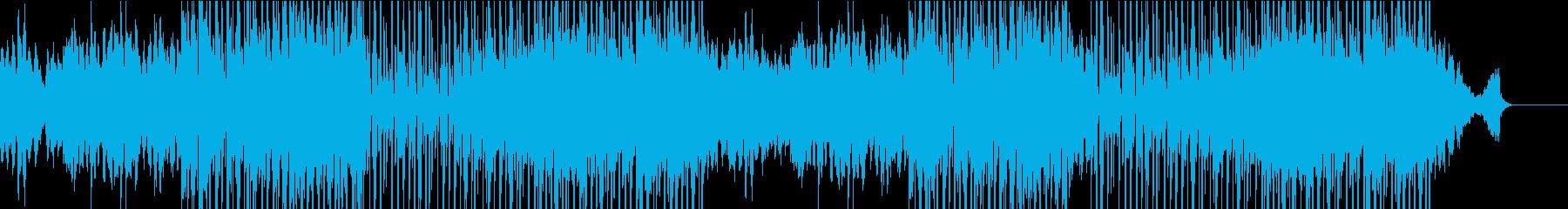 優しいピアノのBGMの再生済みの波形