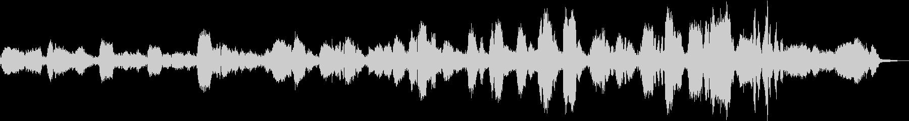 本格的な歌入りのグノーのアベマリアです。の未再生の波形