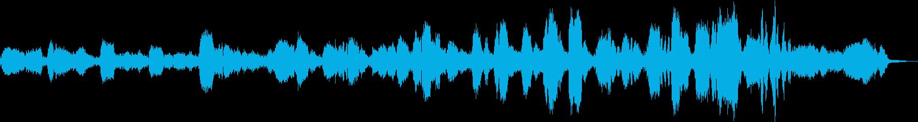 本格的な歌入りのグノーのアベマリアです。の再生済みの波形