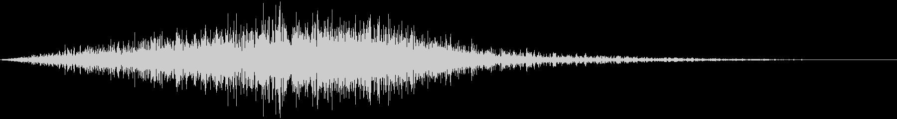 トランジション FX_19の未再生の波形