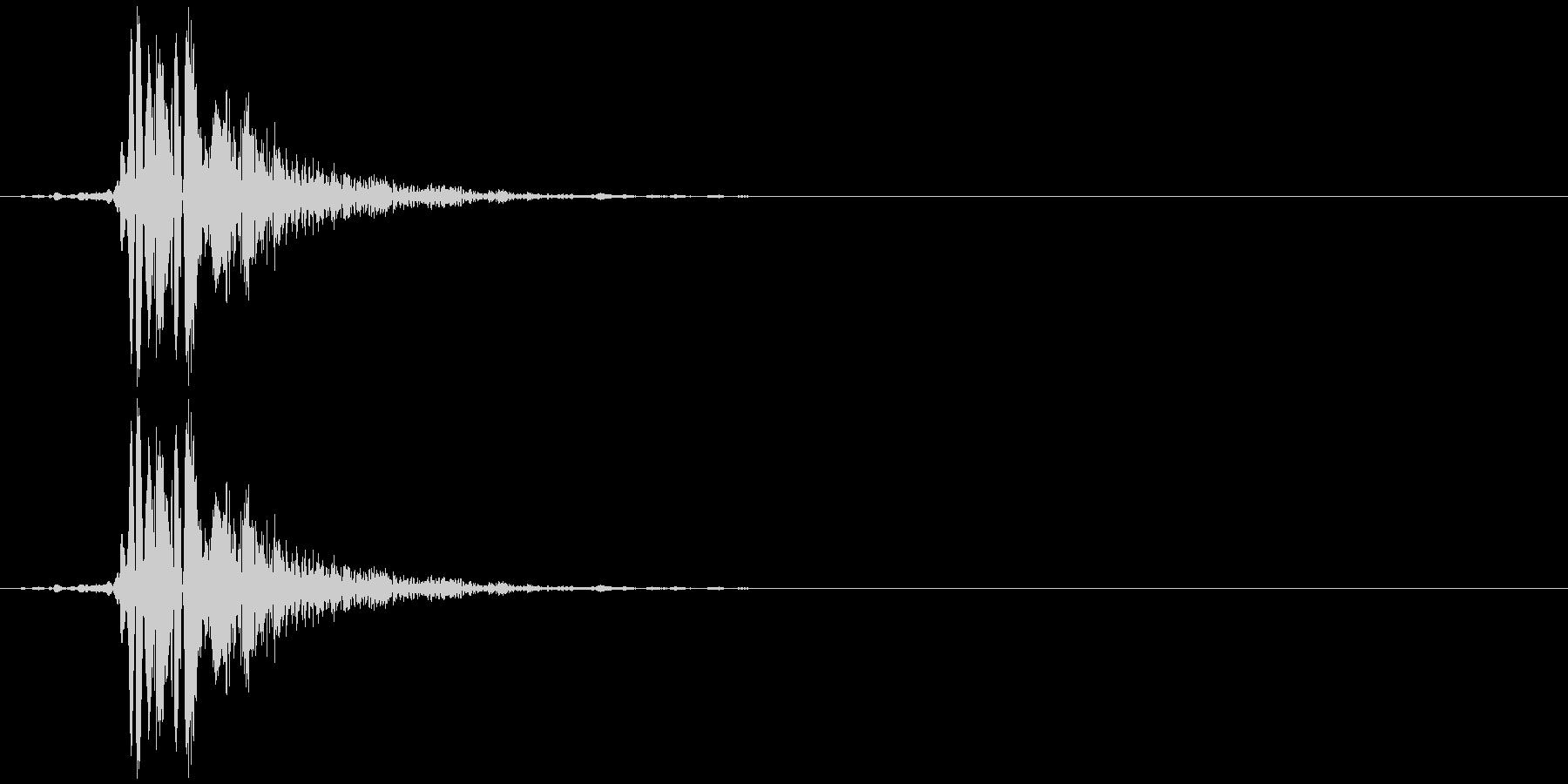 ゴム風船スナップ;ヴィンテージ録音...の未再生の波形