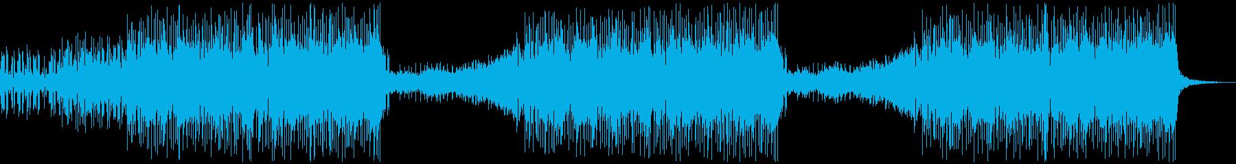 クール/かっこいい/軽快な洋楽ハウスの再生済みの波形