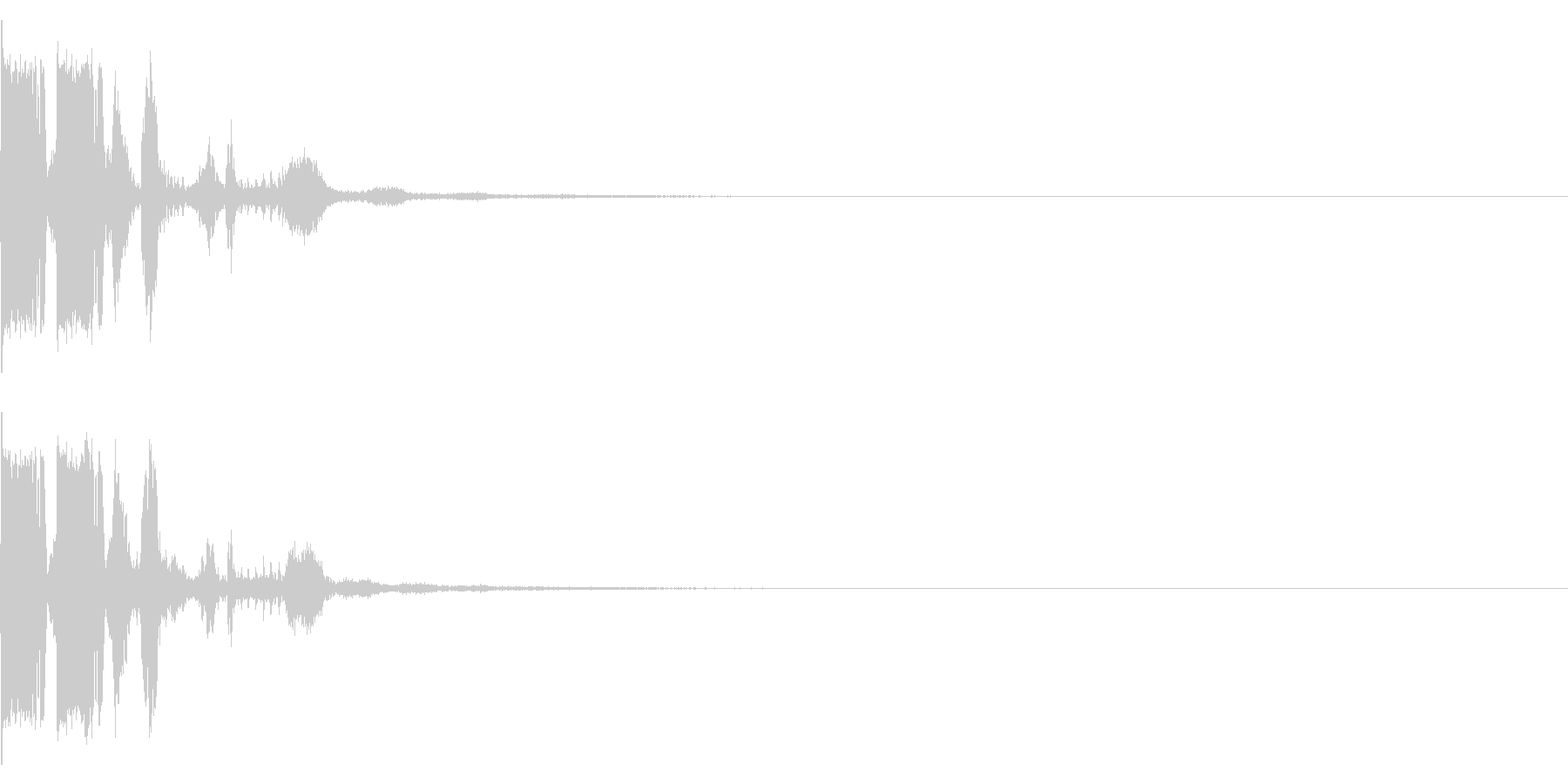 ブンブン ボイス入り 動画の自己紹介にの未再生の波形