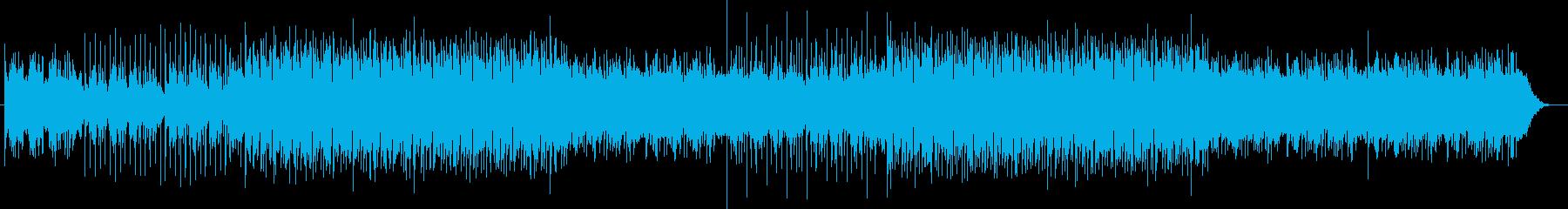 おしゃれなスタイリッシュポップの再生済みの波形