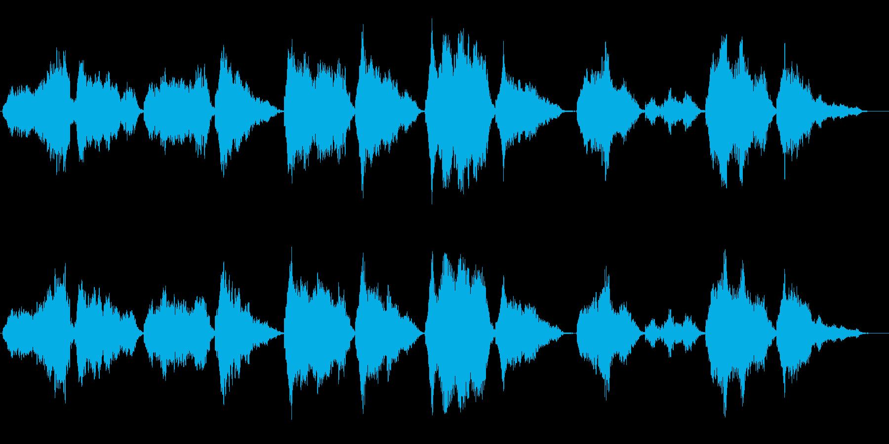 BGM用に優しく「あ〜」で歌いましたの再生済みの波形