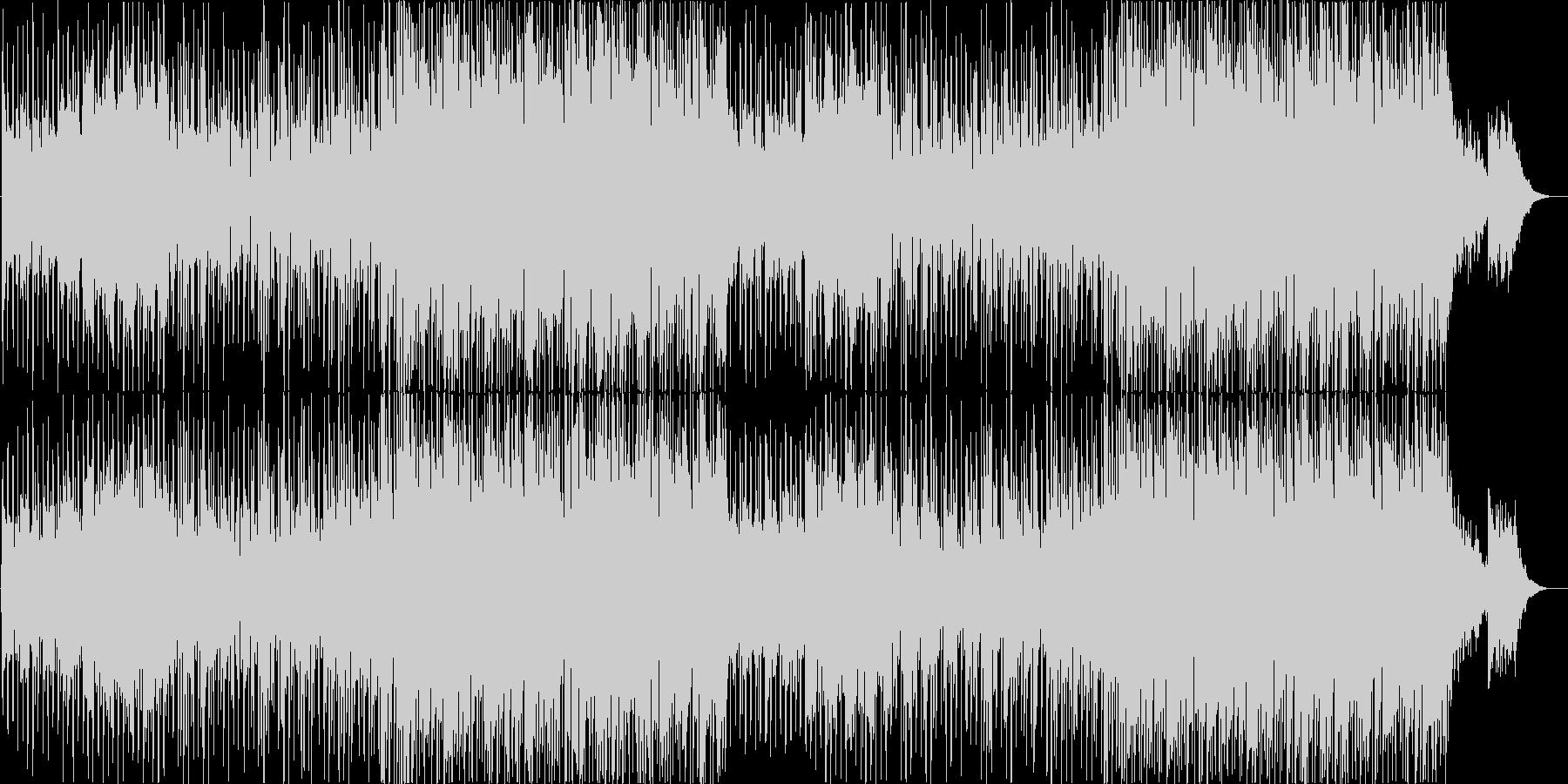 穏やかなコンテンポラリー・カントリーの未再生の波形