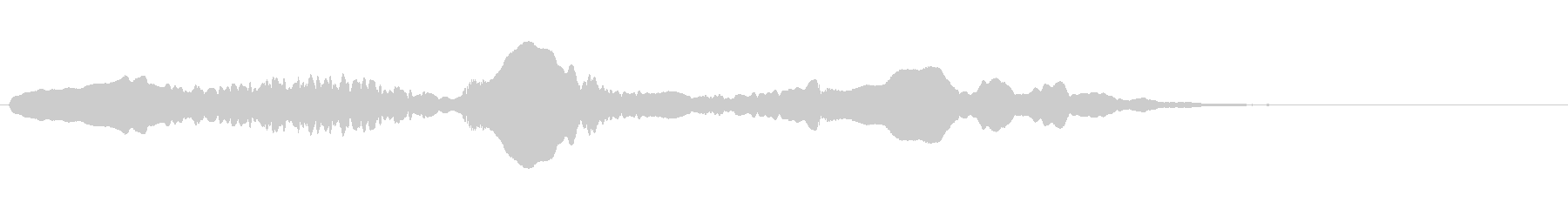 尺八 生演奏 古典風#11の未再生の波形