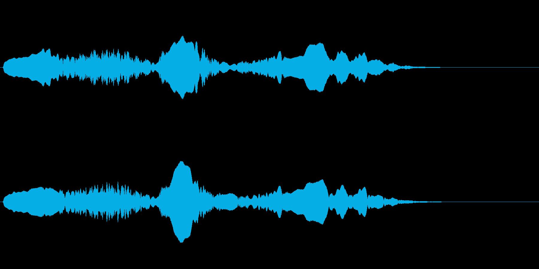 尺八 生演奏 古典風#11の再生済みの波形