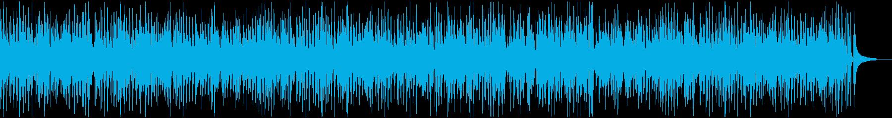 爽やかで明るいお洒落ジャズピアノの再生済みの波形