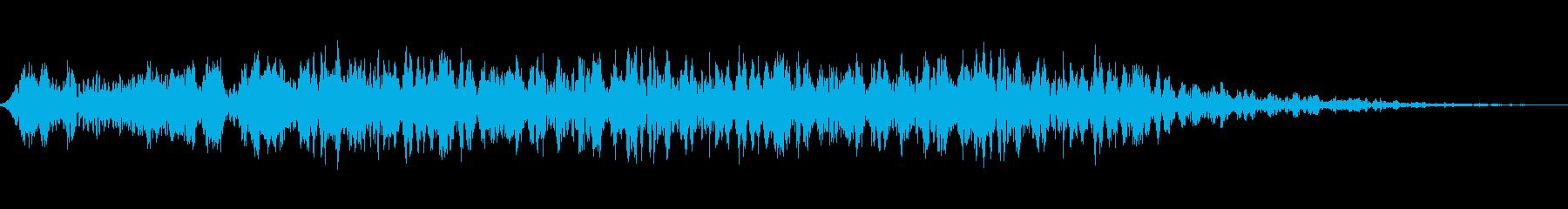進化する変換金属モーフィングの再生済みの波形