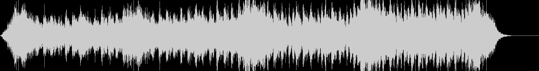 シネマティックなジングルの未再生の波形