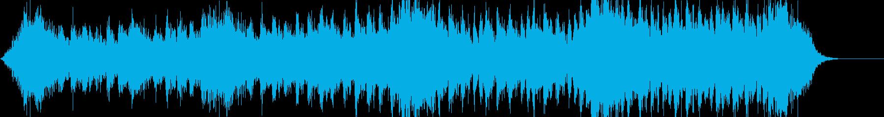 シネマティックなジングルの再生済みの波形