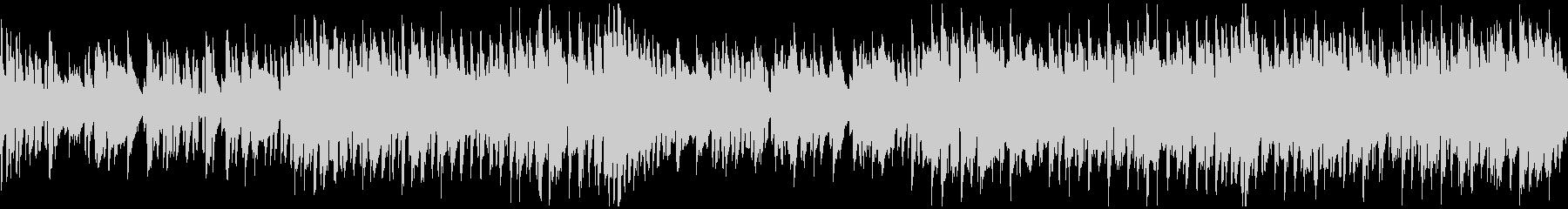 脱力系リコーダーのコメディ劇伴※ループ版の未再生の波形