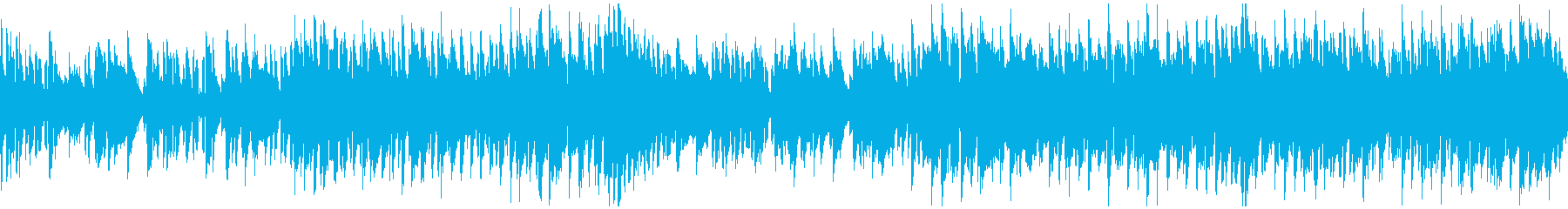 脱力系リコーダーのコメディ劇伴※ループ版の再生済みの波形