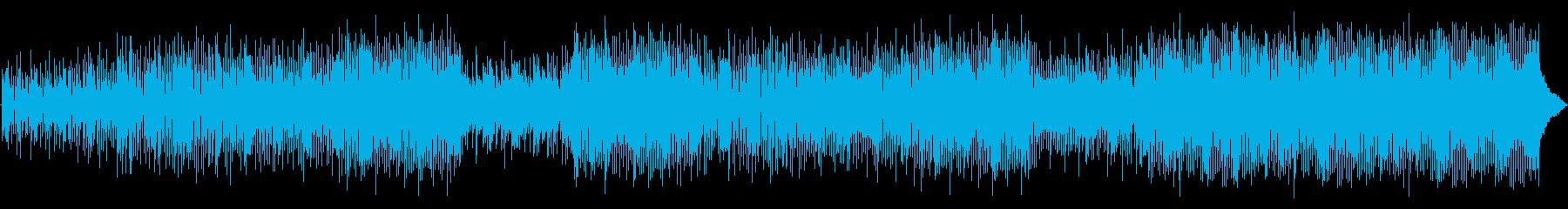 ナイロンアコースティックギター、ピ...の再生済みの波形