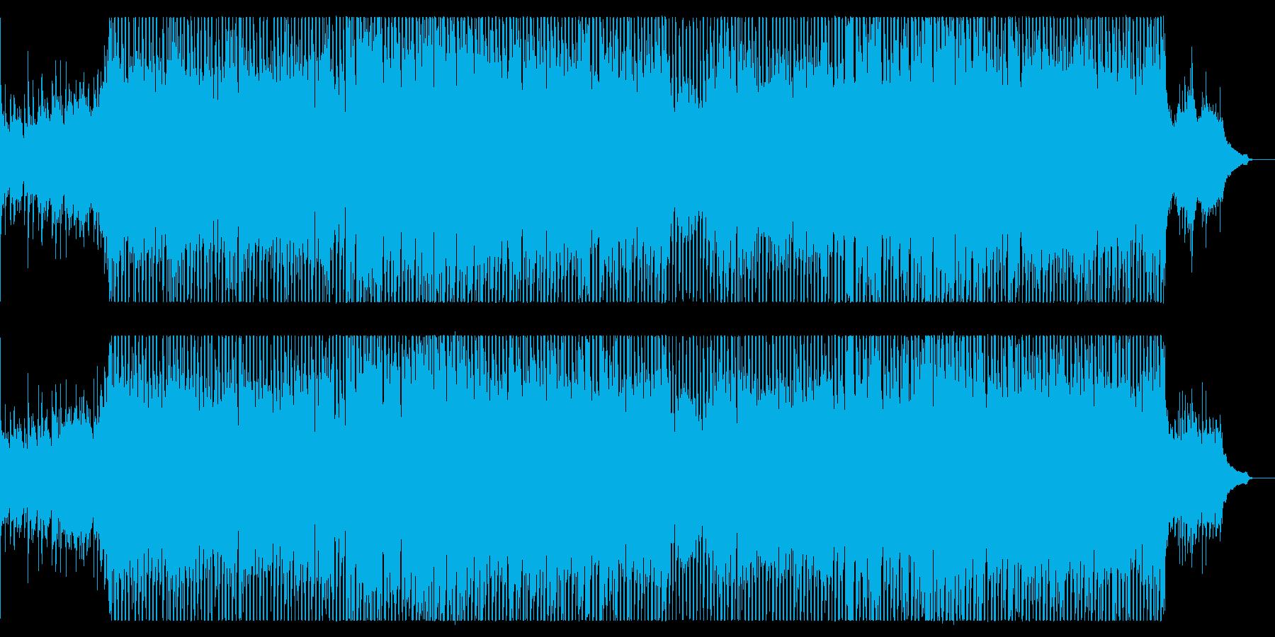 【生演奏】天気予報・朝の番組OP・爽やかの再生済みの波形