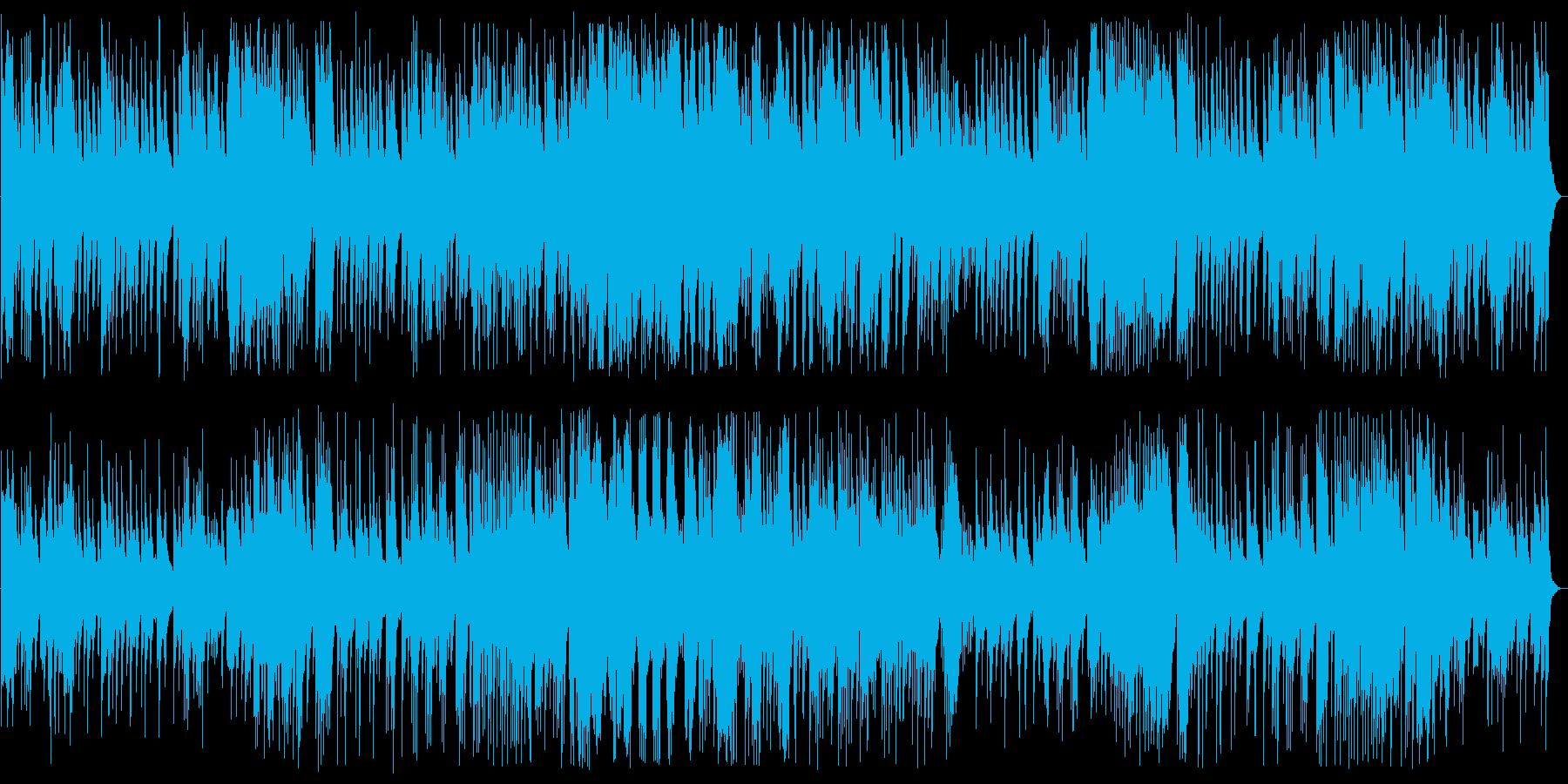 切なくムード満点のジャズ風ピアノの再生済みの波形